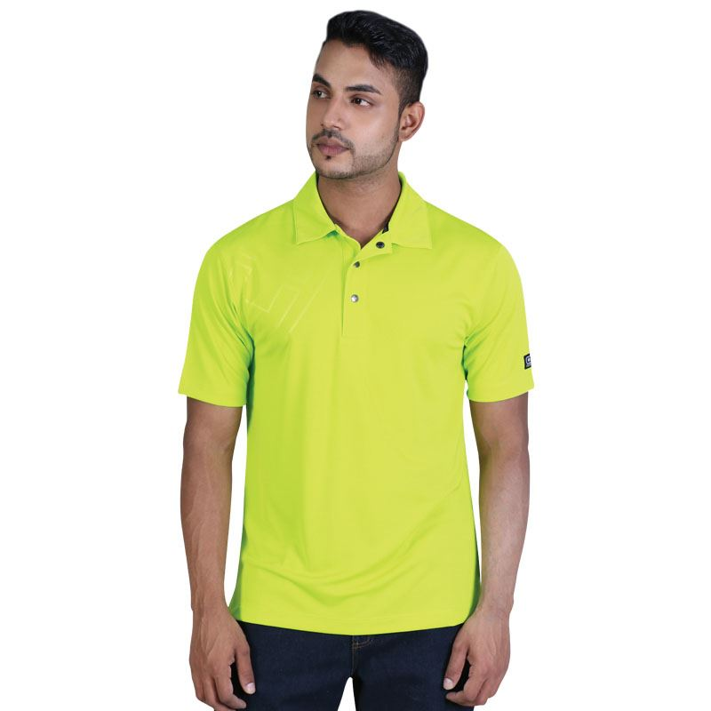 O-Boy Polo - Avail in: Blacktop, Shock Green