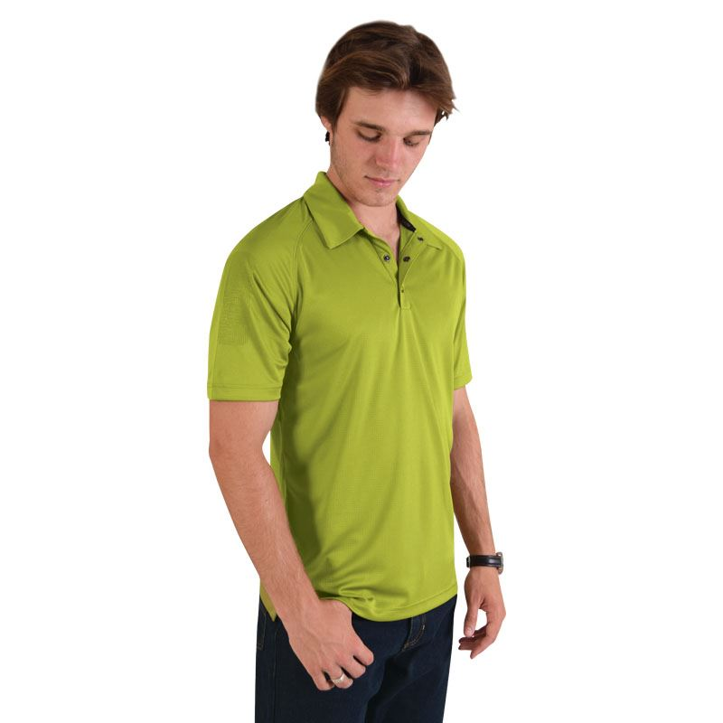Optic Polo - Avail in: Blacktop, Blue Indigo, Alloy Green