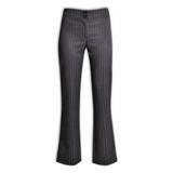 Patricia Stripe Pants - Avail in: Charcoal Stripe