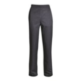 Salis Stripe Pants - Avail in: Charcoal Stripe