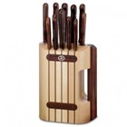 Victorinox 11Pc Cutlery Bk R/W Knife Blocks Are Used To Safely S