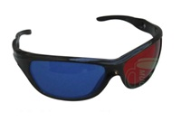 3D Glasses With Round Plastic Frame