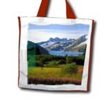 Shopping Bag With Flexi-Handles - For Sublimation Only - Availab
