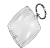 Keyring Clip In - 55mm X 40mm (Outer Dimensions)