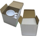 Premium Plus Grade White Mug With Individual Gift Box