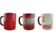 Premium Quality Colour Changing Mugs - Red