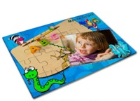Puzzle - Glossy (For Sublimation Only) - 110 X 165mm - 24Pcs