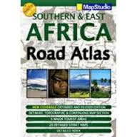 Southern & East Africa Road Map Atlas