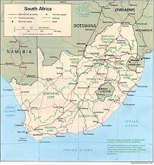 Gt Map South Africa