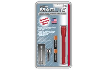 Maglite - Mini Mag Aaa Led Red - Blister **Spo** Available In Gr
