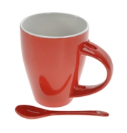 Rose Mug & Spoon