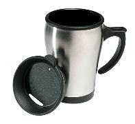 Short thermal mug - 280 ml capacity