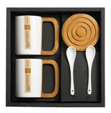 Bamboo Coffee Gift Set