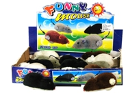 Toy Windup Mouse 3 Colours (12 Per Display) - Min Order - 10 Uni