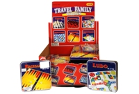 Toy Travel Game - 6 Assorted In Tin (20 Display)(Per Each) - Min