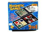 Toy 5 In 1 Magnetic Games - Min Order - 10 Units