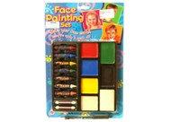 Toy Face Painting Set On Card - Min Order - 10 Units