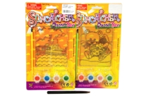 Toy Crystal Paint St - 4 Assorted - Min Order - 10 Units