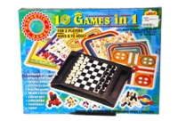 Toy Magnetic 10 In 1 Games - Min Order - 10 Units