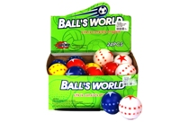 Toy 24Pk Pu Star Balls In Display Box - Min Order - 10 Units