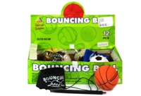 Toy 4Asst Bouncing Return Ball - Min Order - 10 Units