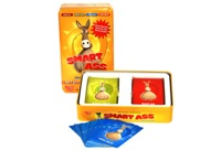 Toy Smart Ass Card Game In Tin - Min Order - 10 Units