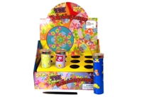 Toy Tin Kaleidoscope 4 Assorted 12 In Display - Min Order - 10 U