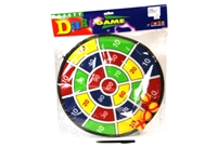 Toy 14.5inch Dart Game With 2 Balls & 2 Darts - Min Order - 10 U