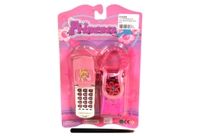 Toy Princess Phone With Bag - Min Order - 10 Units