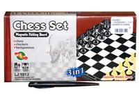 Toy 3 In 1 Magnetic Chess - Min Order - 10 Units