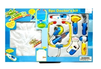Toy 8pc Doctor Electronic Kit With Uniform - Min Order - 10 Unit