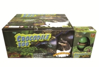 Toy Growing Crocodile Egg 12 In Display - Min Order - 10 Units