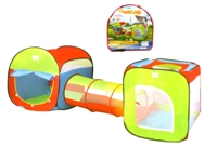 Toy 3pc Super Large Play Tent - Min Order - 10 Units