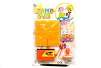 Toy Stamp Play Set With Ink Pad - Min Order - 10 Units