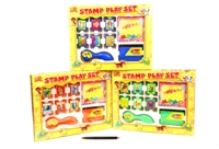 Toy 3 Assorted Jumbo Stamping Set In Box - Min Order - 10 Units