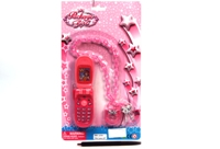 Toy Phone & Fancy Necklace With Flash - Min Order - 10 Units
