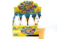 Toy Ce Cream Bubbles - 12 In Display - Min Order - 10 Units