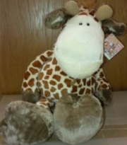 Giraffe Stuffed Toy - Min Order: 12 Units