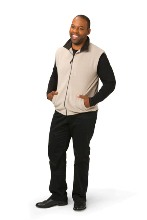 Fleece Bodywarmer 280gsm - Available in black, black, khaki, nav