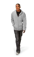 Mens Casual Hoody 260gsm - Available in black, grey, navy or red