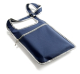Vibrant Shoulder Bag - Navy