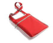 Vibrant Shoulder Bag - Red