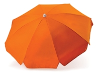 8 Panel Beach Umbrella-Orange