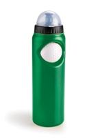 Fan Bottle with Stress Ball - Green