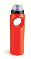 Fan Bottle with Stress Ball - Red