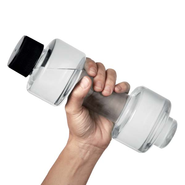 Dumbbell 500ml Water Bottle