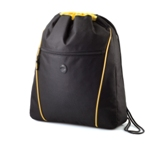 Drawstring Expandable Bag - Yellow