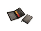 Puccini A5 zip around PU Folder - Available in various colours