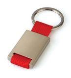 Woven Keyring - Red