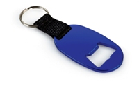 Bottle Opener Keyring - Blue